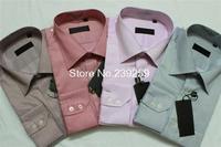 2014 men's casual European-style blusa quentequalidade homme men dress shirts brand striped slim fit shirt M-4XL linen