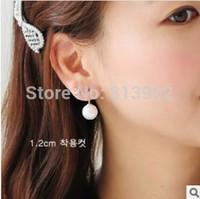 2014 Fashion Pearl Earring Accessories Stud Earring Accessories Gentlewomen Pearl Earrings 4pcs/lot