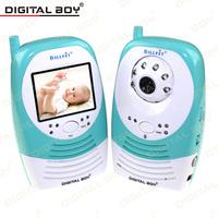 Digital Boy 2.4G Wireless Baby Monitors  2.4 inch Night Vision Video Baby Digital Camera Baba Eletronica