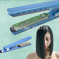 "Brand Professional Titanium Hair Styling Tools Ceramic Hair Straightener 1 1/4"" Plate Width Hair Straightening Irons 110-220V"