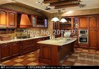 Maple Kitchen Cabinet solid wood kitchen furniture