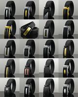 Famous Brand Men Belt Male Waist Strap genuine leather Automatic Buckle cowskin Business Belts