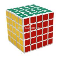 New ShengShou White 5x5 Magic Cube Twisty Magic Puzzle 5x5x5 Speed Cube Educational Toys Twist Puzzle Children Gift Toys