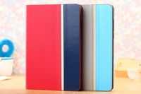 Xiaomi MiPad case,Torras Brand Hit color series flip leather back cover case for Xiaomi Mipad Mi Pad with screen protector