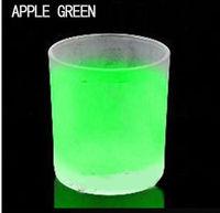 Dancing elves luminous powder luminous phosphors Green light pink