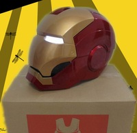 New Electric Switch Iron Man Helmet Replica Life Size 1:1 Eyes Light Up