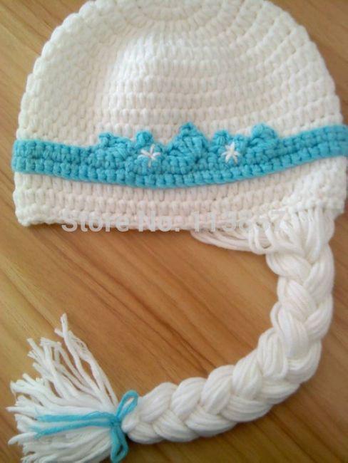 2015 hot sale new styles handmade crochet elsa hat-in Hats ...