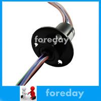 10PCS/LOT 12.5mm 12*2A(12 Wires,2 amps)12 Conductors Capsule Slip Ring 220V AC 250Rpm CCTV original *FD090