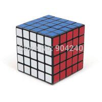 New ShengShou Black 5x5 Magic Cube Twisty Magic Puzzle 5x5x5 Speed Cube Educational Toys Twist Puzzle Children Gift Toys
