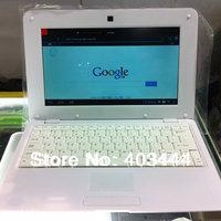 "10"" Laptop VIA WM 8880 Dual Core 1.5GHz 1GB RAM 4GB ROM Android 4.2 WiFi Webcam Netbook Free Shipping"