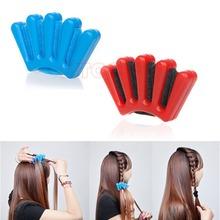 U119 Free Shipping New Hair Braider Braid Stylist Sponge Plait hair Twist Styling Braiding Tool(China (Mainland))