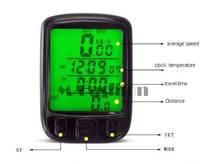 Waterproof Bicycle Bike Cycle Wireless LCD Digital Computer Odometer Speedometer for Bicycle SV003370