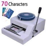 Guarantee 100% New Manual 70 Code Letterpress PVC card embossing machine Magnetic Membership ID  Plastic Card Embosser Printer