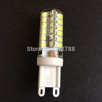 5Pcs Silicone Led G9 Led Bulb 220V 6W 2835 SMD 48 LEDS Crystal Lamp Bulb Light Chandelier Spotlight Cool/Warm White Light
