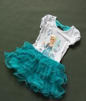 girls  frozen clothing dresschildren frozen elsa  summer  clothes dresses girl dress princess