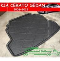 FOR 2008-2012 KIA CERATO SEDAN REAR TRUNK TRAY BOOT LINER CARGO FLOOR MAT CARPET