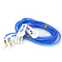 Multifunctional clothesline belt slip-resistant windproof clothes rope travel outdoor clotheshorses bathroom rope