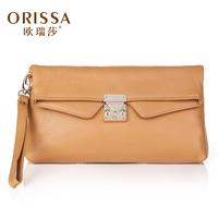 Day clutch female 2014 women's cowhide handbag fashion clutch bag female genuine leather one shoulder cross-body bag small