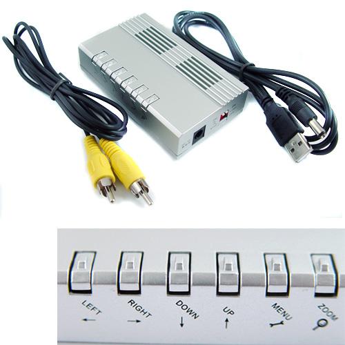Sell PC VGA to TV RCA Video Siginal Converter Adapter Box HI5(China (Mainland))