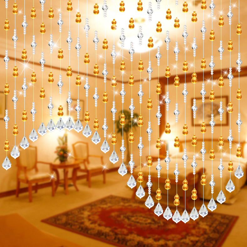 Bead curtain crystal partition curtain finished product crystal bead - Popular Hanging Crystal Curtains Buy Cheap Hanging Crystal