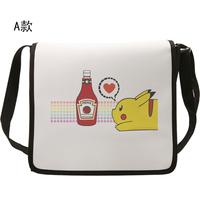 Cute Pikachu Bag Anime Pokemon Canvas School Messenger Bags