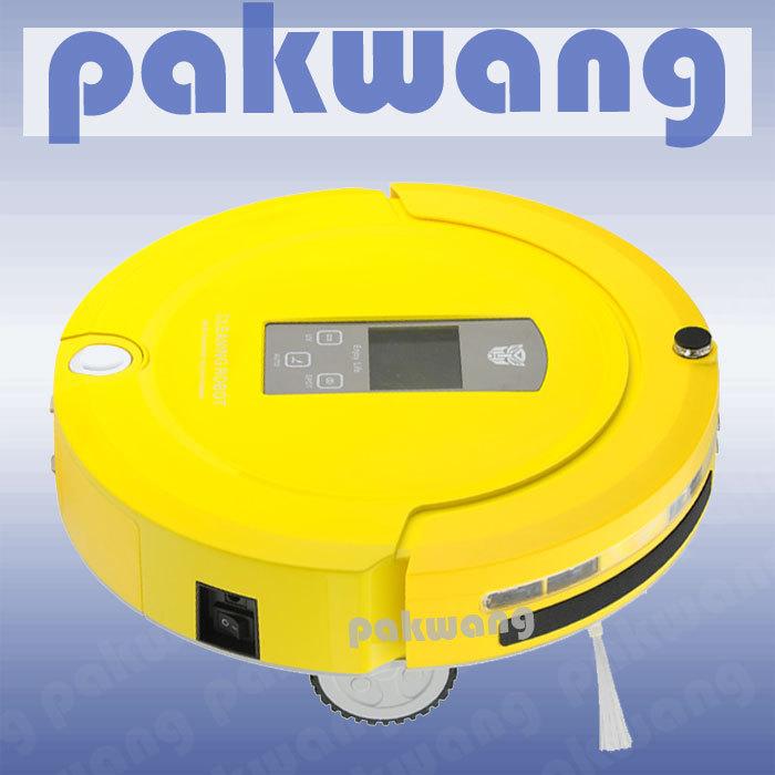 Multifunction remote control robotic vacuum cleaner Good robot portable vacuum cleander(China (Mainland))