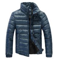 whole sale! men's winter jacket mens fashion cotton down jacket parks for man plus size M-XXL winter jacket men parka men