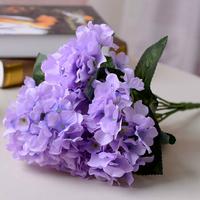 Artificial flower silk decorative holding flowers bouquet home decorations