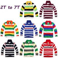 Retail New Autumn Summer Children Long sleeve T shirts unisex baby Boy Clothing girls Tees striped kids minions clothing