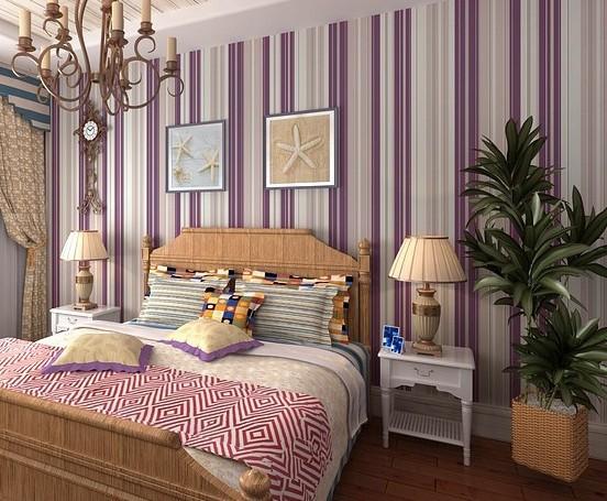 Stripes wood grain  SelfAdhesive Wallpaper Home Decor