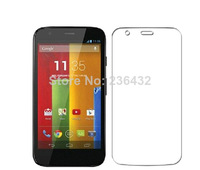 High Quality Ultra Clear Screen Protector Protective Film For Motorola Moto G DVX XT1032  Free Shipping 10pcs/lot
