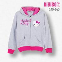 Female child children's child clothing spring 2014 spring and autumn outerwear sweatshirt zipper-up thin women's