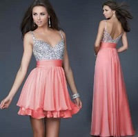 Free Shipping New Arrival Women's Prom Gown Ball Evening Dress E0383
