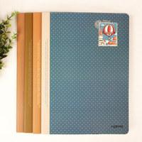 New Lenwa Notebook B5 Silent Wind Series Diary Book Notebook Notepad Korea School Supplies Stationery Cute