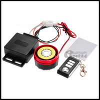 Motorcycle Anti-theft Security Vibration Alarm System Remote Control 12V