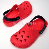 2014 Summer Children Shoes  sandals slippers for girls boys   kids beach sandals EVA hole shoes