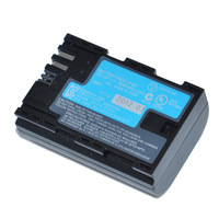 Free Shipping Rechargeable for canon lp e6 lpe6 lp-e6 Battery for Canon EOS 5D Mark II 5D Mark III 60D 60Da 7D