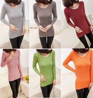 long women winter fashion 2014 sweater knitted o-neck long sleeve sexy slim sweater thick woolen women sweater