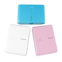 Mobile power supply New 12000MAH power bank 12000mAh Portable power supply 18650 batteries High quality
