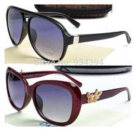 New Brand Designer Fashion Vintage Floral Frame Sunglasses Men Women Retro Eye Glasses Oculos De Sol Lentes Gafas Crystal Lentes