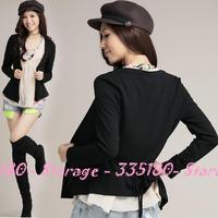 XL-4XL Brand 3 piece Women Tops Suit Sets Knitted Jacket + Chiffon Shirt + Halter Vest Autumn Winter Plus Size Clothes 18756