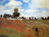 handpainted  impressionist oil painting reproduction art of famous artist Monet   Monet1014 50x60cm