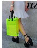 Simone Rocha Spring with paragraph transparent acrylic hollow flower lace clutch handbag 50% off