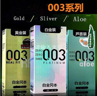 10PCS/pack sex products Japan Okamoto condom 003 Super Lubricative real fit sex product for adult
