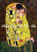 handpainted  impressionist oil painting reproduction art of famous artist Klimt  Klimt1012 50x70cm