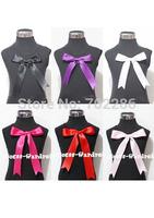 Baby girls tops sleeveless black cotton Tshirt ribbon
