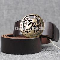 Natural cowhide Vintage Belts For Men/Women  Brand Quality assurance Leather Belts 2014 Designer Cinto Belt Black, Brown,orange