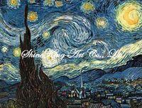 handpainted  impressionist oil painting reproduction art of famous artist Van Gogh Van1003 50x60cm