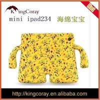 Spongebob SquarePants silicone case for iPad2/3/4