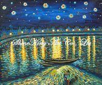 handpainted  impressionist oil painting reproduction art of famous artist Van Gogh Van1004 50x60cm